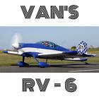 VAN'S RV-6 ORIGINAL PAPER PLANS + MEGA INFORMATION KIT FOR HOMEBUILD AIRCRAFT