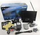 """IN BOX 7"""" Haier HLT71 Portable 720p HD LCD TV in BOX with REMOTE CONTROL"""