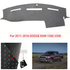 Dashboard Cover Dashmat Fit For 2011 202-2016 DODGE RAM 1500 2500 3500 Sunshade