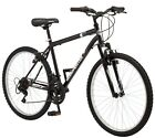 "Roadmaster Granite Peak Men's Mountain Bike, 26"" wheels, 18"" speed Black/White"