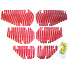 Screen Kit For 1998 Arctic Cat Jag 340 Snowmobile Dudeck A-10 CANDY RED