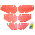 Screen Kit For 1998 Arctic Cat Jag 340 Deluxe Snowmobile Dudeck A10-ORANGE