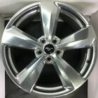 "ONE USED 19"" INCH FORD MUSTANG 2018 POLISHED OEM FACTORY JR3C1007CA 10158 1091"