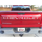 Polished Tailgate Letter Insert 7pcs (fits: 2019 Chevy Silverado 1500)