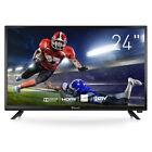 Myonaz LED HD TV 24 inch 1080p Flat Screen TV Widescreen 3X HDMI HDTV w/ Remote