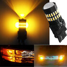 2pcs 3157 LED Turn Signal Lights Amber yellow Bulbs High Power Brake Tail Bulbs