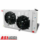 "ASI 3 Row Radiator+Fan Shroud FOR Chevy Caprice 1971-1990/Chevelle/GM 28"" 66-80"