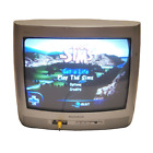 "Magnavox 13"" CRT TV Vintage Gaming Television 13MT1431/17 Smart Series RCA Input"