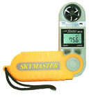 Portable Hand Held Weather Meter Displays Wind Speed Temperature Wind Chill New