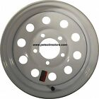 Greenball White 5 Lug Trailer Wheel 15x5