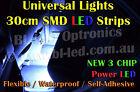 Universal 30cm SMD High Power LED Strip for Car Boat Bike DRL Fog Undercar Neon