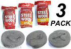 Steel Wool Variety 3 Pack x 100g Rolls - Fine, Very Fine & Super Fine