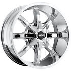 20x9.5 Chrome MKW Offroad M81 5x150 -10 Rims Trail Grappler 275/65/20