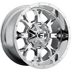 20x9 Chrome Fuel Krank D527 6x135 & 6x5.5 +1 Wheels Terra Grappler 275/60/20