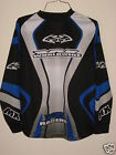 YOUTH MTX WORLDWIDE MOTOCROSS OFF ROAD BIKE QUAD RACING JERSEY SHIRT LG BLACK BL
