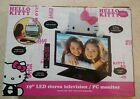 "Hello Kitty 19"" Class 720p 60Hz LED TV/Monitor - Black/Pink/White"