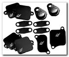 NEW 2010-2011 BMW S1000R DRIVEN SMOG BLOCK OFF PLATES