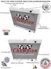 1960 1961 1962 1963 1964 1965 Chevy Biscayne 3 Row DR Aluminum Radiator