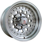 15x8 Machined Rebel Racing Bandit II 5x4.5 -19 Wheels Grabber AT2