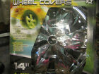14in BRILLIANT CHROME FINISH WHEEL COVERS 4 PACK (KT961-14)
