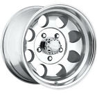 16x8 Polished Pacer LT  5x5.5 -6 Rims Nitto Terra Grappler LT265/75R16 Tires