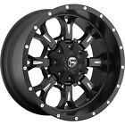 18x9 Black Fuel Krank 5x4.5 & 5x5 +1 Rims Nitto Terra Grappler 275/65/18 Tires