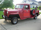 Willys : Overland Pick-up  2-door 1947 overland pick up truck red 4 cylinder mustang engineand front suspension