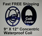 "NEW Garrett AT Metal Detector 9 x 12"" Waterproof Coil * Fast FREE Shipping"