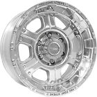 17x8 Polished Pro Comp Series 89 89 6x5.5 +0 Wheels 285/70/17 Tires
