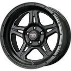 17x9 Black Strike 5 5x4.5 -12 Wheels Terra Grappler G2 305/70/17 Tires