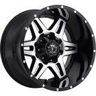 20x9 Black Machined TIS 538MB 5x5.5 & 5x150 +18 Rims Trail Grappler 37 Tires