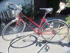Super Cool Vintage Women's Red Schwinn Traveler 3 Ladies Bicycle Bike w/ Extras