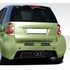 GT300 Wide Body Rear Bumper Cover 1 Piece fits Smart fortwo 08-16 Duraflex