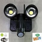 Wireless Home Security Camera IP WIFI CCTV Light Phone Surveillance Systems DVR