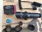 Hunting 532nm Green Dot Laser Sight Dual 20mm  Rail Mount Switch