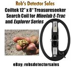 "Coiltek 12"" x 8"" Treasureseeker Search Coil for Minelab E-Trac and Explorer"