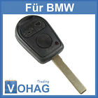 BMW Key 3 Button Blank HU92 E46 X3 X5 3 series 3 New Remote control
