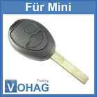 Key Remote Control Housing Spare Blank Mini One Clubman Convertible Cooper