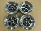 15 X 7 4 3/4 Bolt Pattern Buick Rally Wheel Set