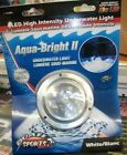 Boater Sports Aqua Bright II  SS Underwater LED White Light  Round 12V