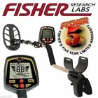 Fisher F70 Metal Detector + Submersible DD Coil & 5 Year Warranty - Newest Model