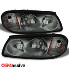 00-05 Chevy Impala Smoke Replacement Headlights Front Headlamps Left + Right