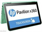 "HP Pavilion x360 Convertible 11.6"" Laptop/Tablet Core M3-6Y30 4GB 250G-SSD Win10"