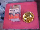NOS Vintage Westinghouse 4012A Type L fog lamp bulb 6 8 volt 5-1/2 inch amber