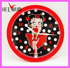 BETTY BOOP ROUND WALL CLOCK GIFT DECOR COLLECTOR