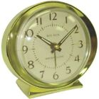 Clock Alarm Keywound Goldtone,No 10605QA,  Westclox, 3PK