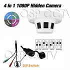 TVI AHD CVI Analog 1080P 4 in 1 Hidden Camera 2.4MP Sony CMOS 3.6mm lens