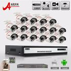 ANRAN 16CH 1080P Ethernet PoE Security Outdoor 2MP P2P CCTV IP Camera NVR System