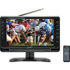 Supersonic 9 Inch Portable Digital LCD TV AC/DC Compatible w/ Built-in Battery