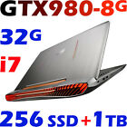 "ASUS ROG G752VY-GC131T i7-6820HK 32GB 256G SSD + 1TB 17.3"" FHD GTX980-8GB Gaming"